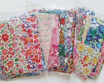 Liberty Tana Lawn Scrap Pack Assorted