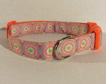 Ring Around the Rosie Dog Collar