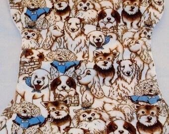 Puppy Love Burp Cloth and Bib Set