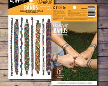 Friendship Bands Temporary Tattoos, Fashion accessory for Girls