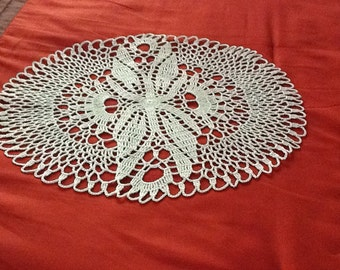 Green Mint Crochet Doily