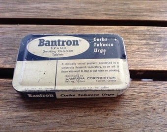 Bantron Brand Smoking Deterrent Tablet Tin