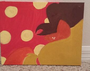 Applejack Canvas Original Work 11x14