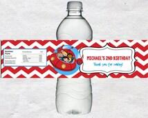 Little Einsteins Water Bottle Labels Little Einsteins Water labels