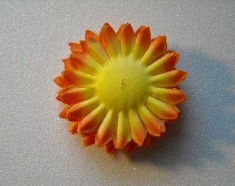 Sunburst Orange and Yellow Flower Petals Layers (10 Pieces)
