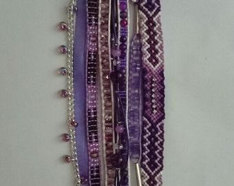 Lilac manchette