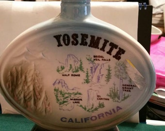 Jim Beam Yosemite California  Decanter Bottle