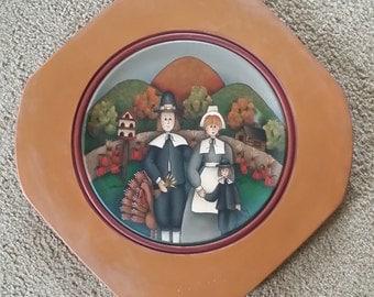 Pilgrims Plate