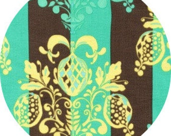 SALE  Olivias Holiday, Tina Givens - Pineapple Post in Stone - 1 yard