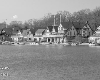 Historic Boathouse Row in Philadelphia