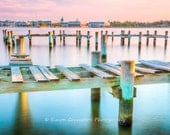US Naval Academy - Jonas Green Park - Annapolis - Severn River - Maryland - Landscape Photograph - Fine Art Print