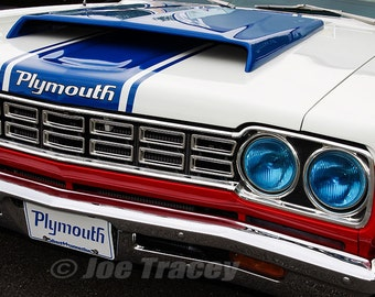 1968 Plymouth Road Runner Sox & Martin Edition, Automobile Photography, Classic Cars, Automotive Decor, Automobiles, Muscle Cars, Mopar