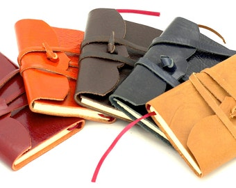 Crystal leather diary-fantastic with its 10 cm x 7-various colors