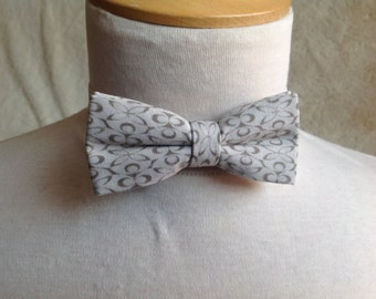 grey bow tie for children