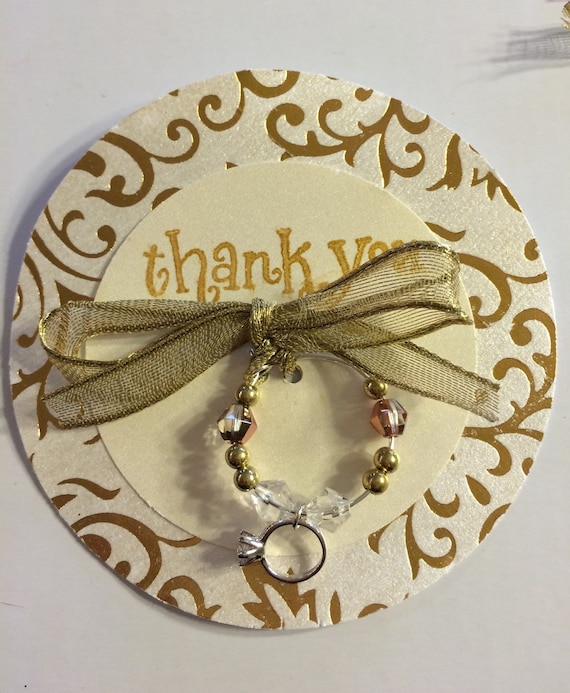 Wedding Favor Tags Diamond : Items similar to Wedding Favor Wine Charms Tags-Diamond Ring on Etsy