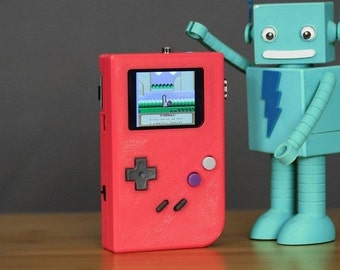 DIY Raspberry Pi gameboy case by adafruit (case only)