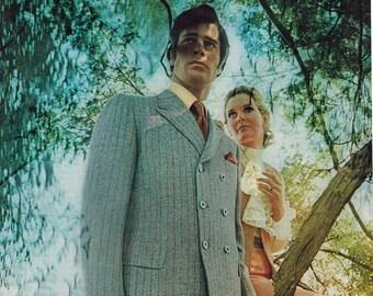 "Vintage Print Ad 1969 : Clubman Fashion Advertisement Color Wall Art Decor 8.5"" x 11"""