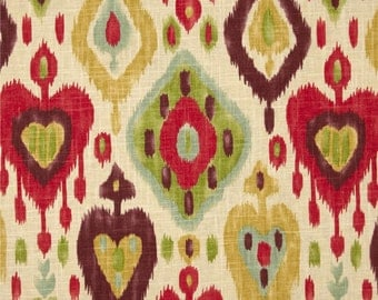 Upholstery Fabric, Drapery Fabric, Linen Ikat Fabric, DuvetCoverFabric, SlipCoverFabric,  Fabric By The Yard, Modern Fabric, ExclusiveFabric