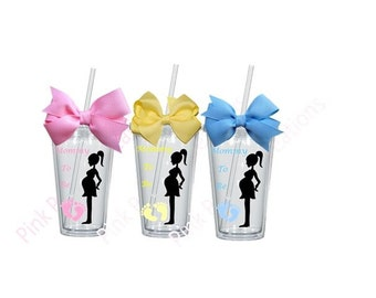 Mommy to Be, Baby Shower Gift, Mommy to Be Gift, Expectant Mother Gift, Personalized Tumbler