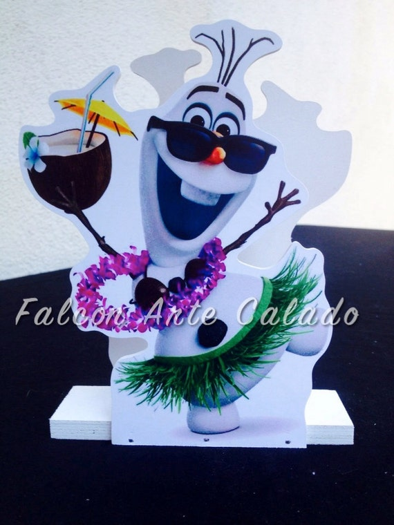 Frozen Birthday Olaf decoration guest table or food court