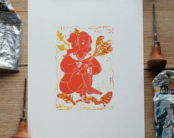Harvest – A4 print
