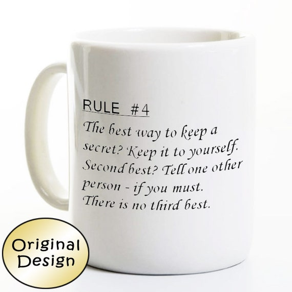 Ncis Gibbs Rules Mug
