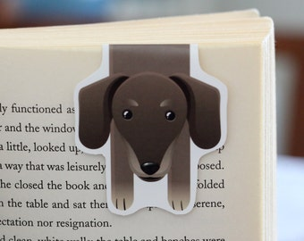 Dachshund Magnetic Bookmark