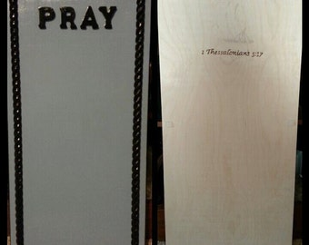 Handcrafted Prayer Board