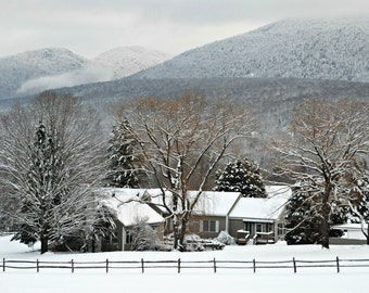 Winter Home in Vermont Mountains