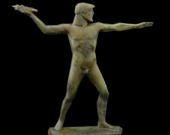 Zeus King Of the Gods Olympians Bronze Statue