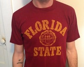 Florida State shirt with some paint on it...