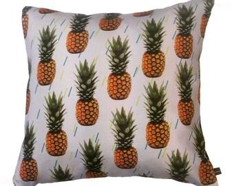 Pineapple Pillow Tropical Cushion
