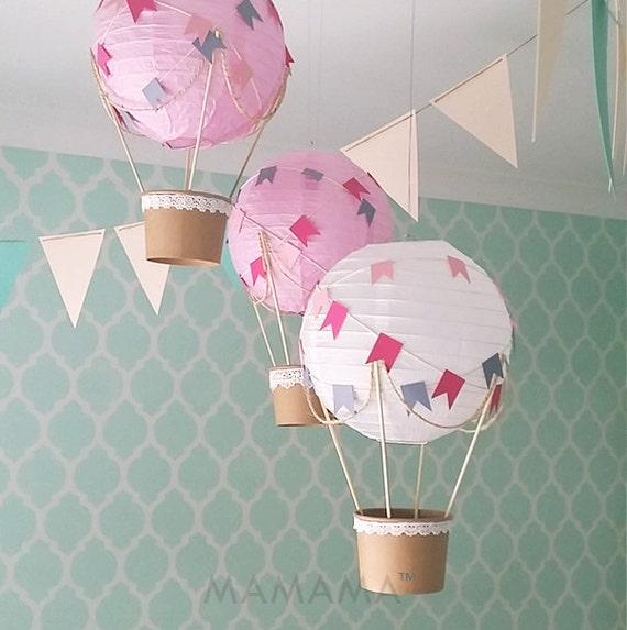 Lunatique Hot Air Balloon du00e9coration bricolage kit du00e9cor de