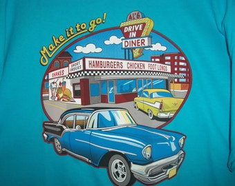 fifties, car show shirt