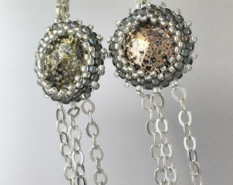 Bud Drape Earring - made with Swarovski Elements