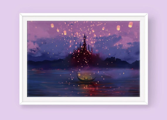 Tangled Poster Away With You Tangled Movie Tangled Lantern
