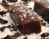Chocolate Salted Caramels - Gift for Him, Gift for Her