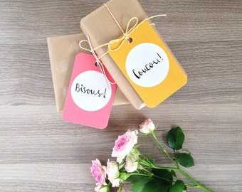 40% OFF SALE - Frenchic Gift Tags (Pack of 6)