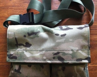 Multicam Claymore Bag, Military, PLCE, Grab Bag, 1000d Cordura, Airsoft, Webbing, Army, Camouflage