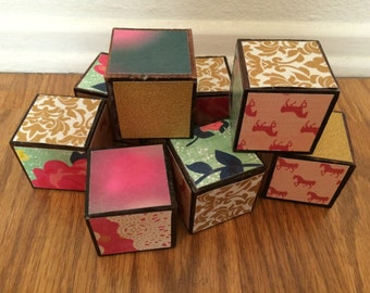 Custom Baby Blocks