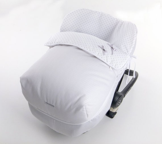 sale baby car seat gray footmuff baby car seat cover cozy. Black Bedroom Furniture Sets. Home Design Ideas