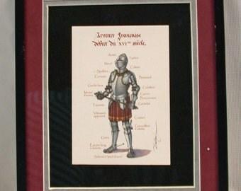 Anatomy of Armour - Armure Française Début XVI Siècle