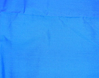 1 yard broadcloth  blue