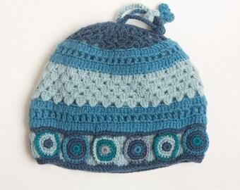 Crochet Big Circle Hat