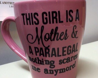 This girl is a mother and a paralegal - Nothing Scares me anymore!