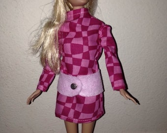 Chic 3 piece outfit for Barbie & friends.