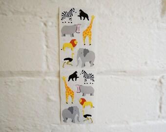 Wild Animals Stickers.
