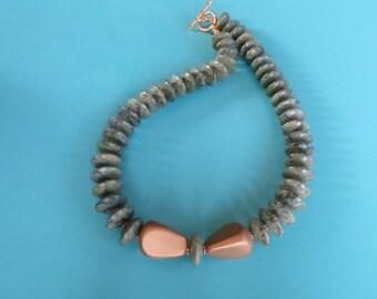 Ellegant Russian Serpentine Goddess  Necklace