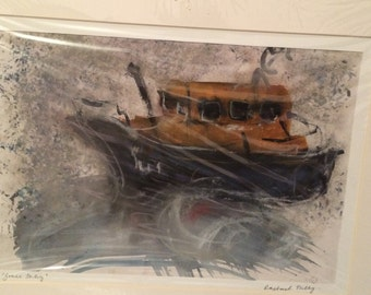 An original Rachael Tully painting