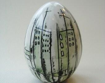 Ceramic Egg.